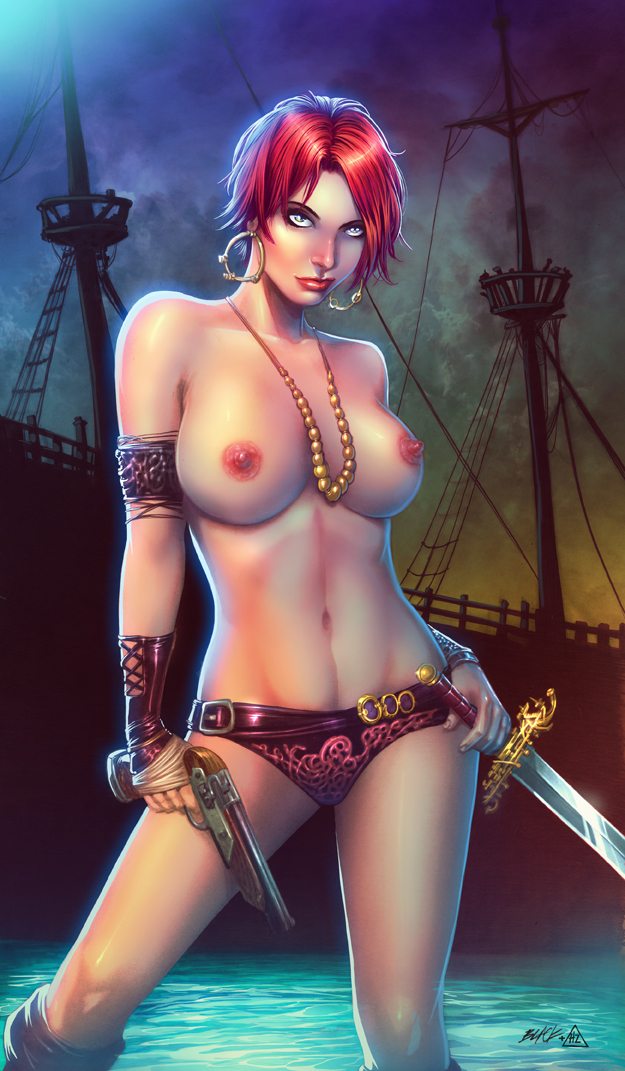 PIRATE GIRL by HedwinZ89