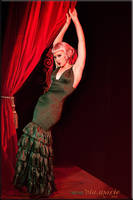 Behind The Red Curtain... by viamarie
