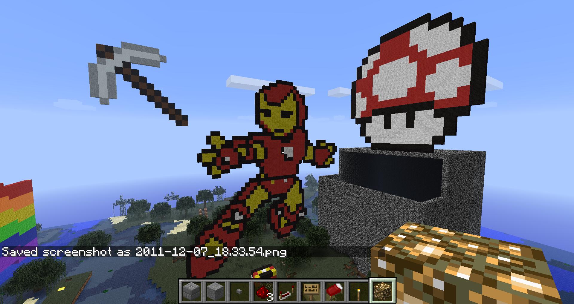 Minecraft How Ot Build Compass