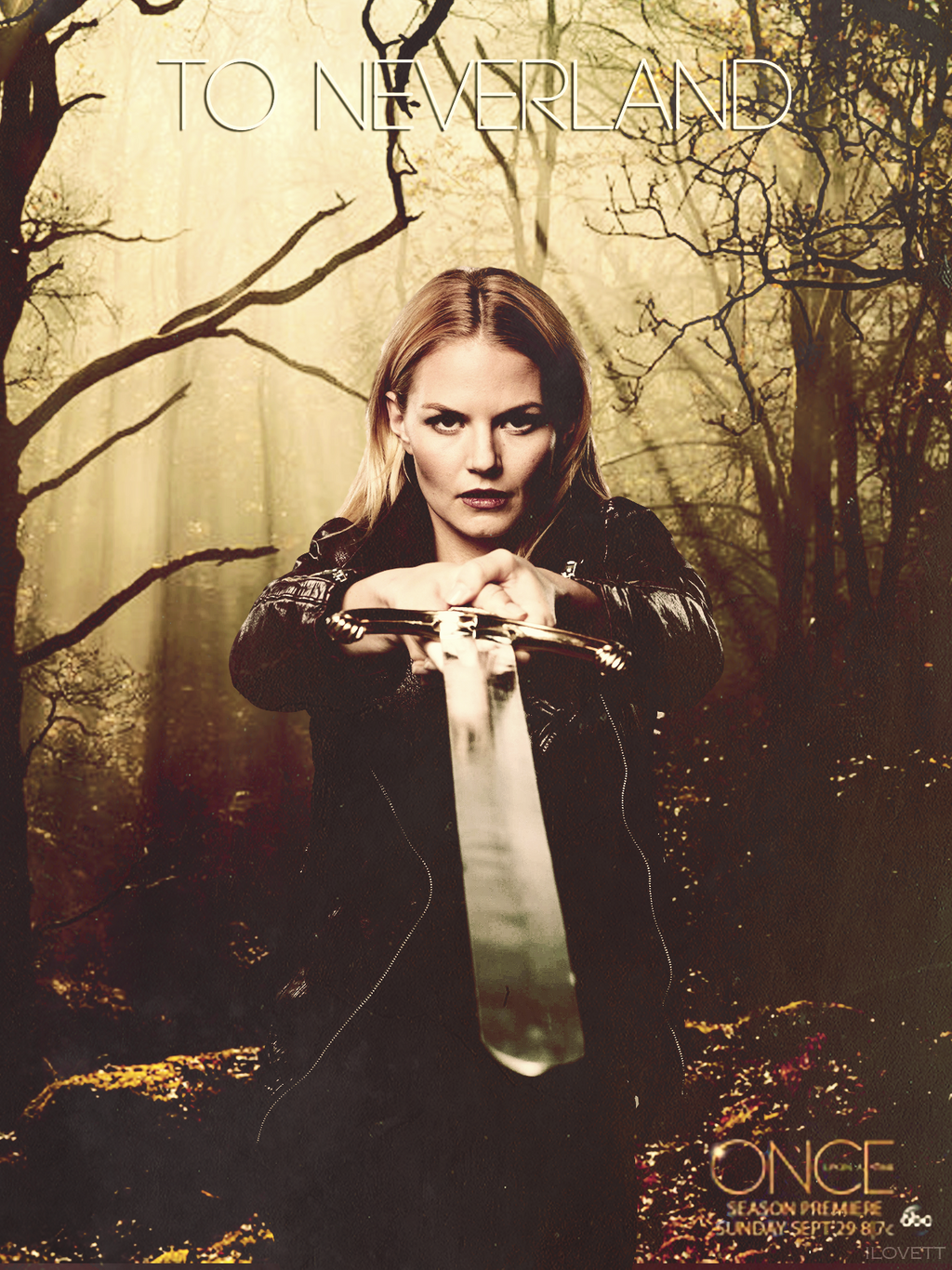 Once Upon A Time Season 3 Poster Emma Season 3 Promotional P...