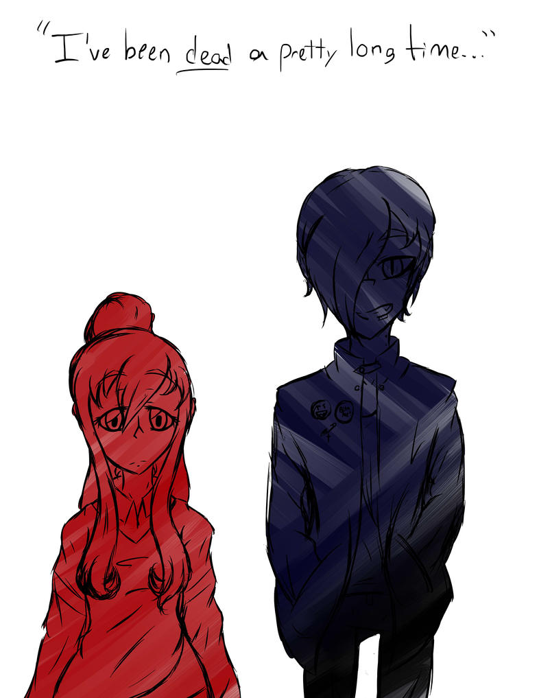 Vamps AU/Art Style testing by EpicMickeyX