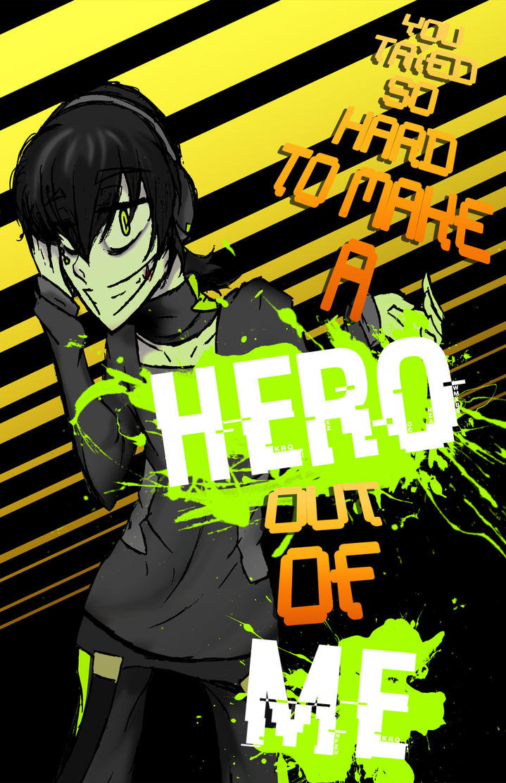 Make a Hero- by EpicMickeyX