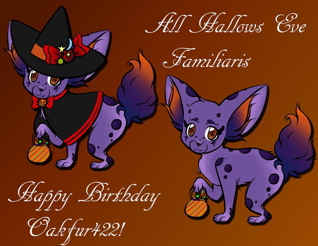 Happy Birthday Oakfur422! by EpicMickeyX