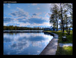 Rantapuisto. HDR