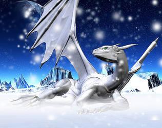 White Dragon by RadianceDragon