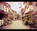Osaka's street