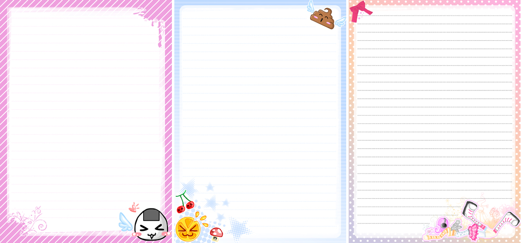 Cute stationary by MilkyBerry on DeviantArt