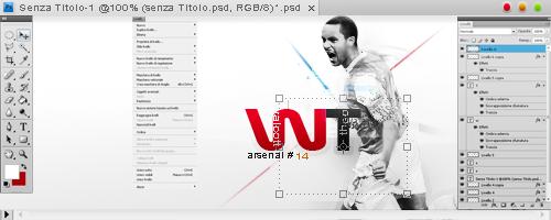 Walcott by gigio by SoccerArtist2010