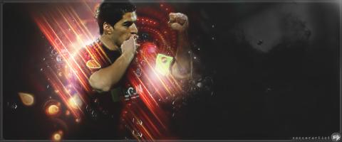 Suarez by Loked by SoccerArtist2010