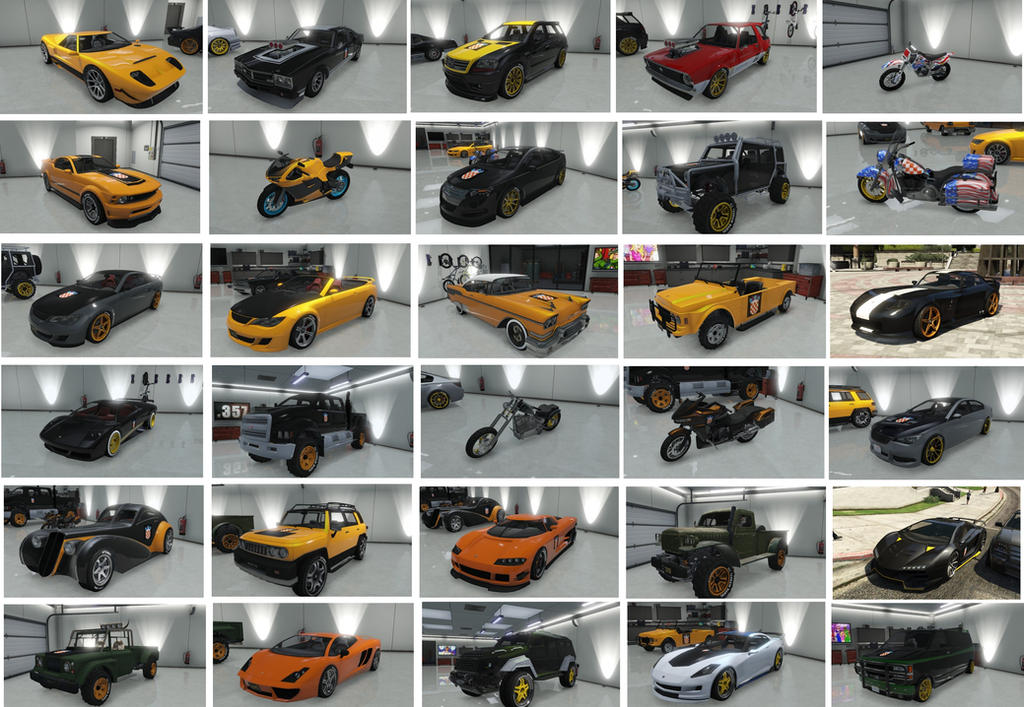 GTA Online - My Cars by IvanL1997Jovo on DeviantArt