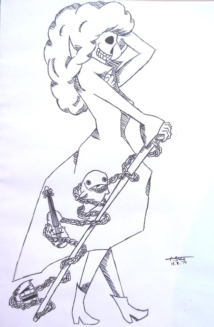 Brook (One Piece) by Wattefuchs