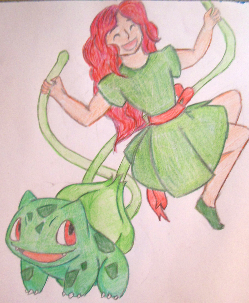 The very beginning of Poison Ivy by Wattefuchs