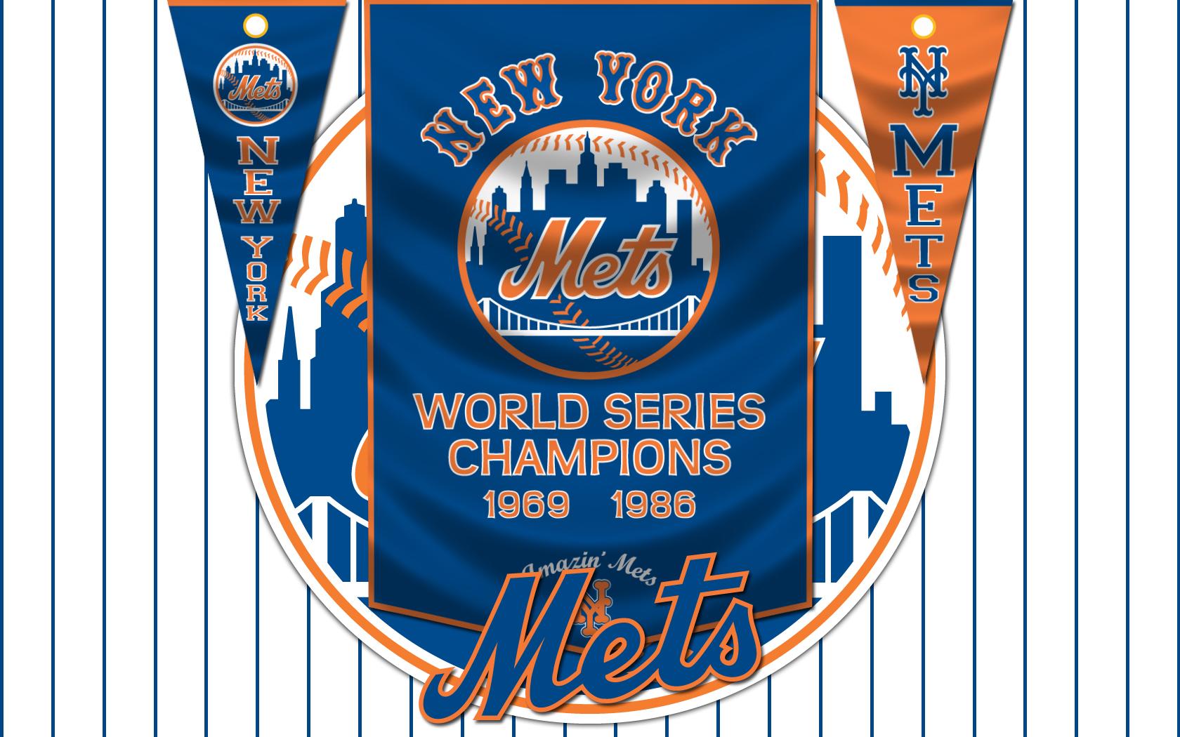 Mets Banners by monkeybiziu