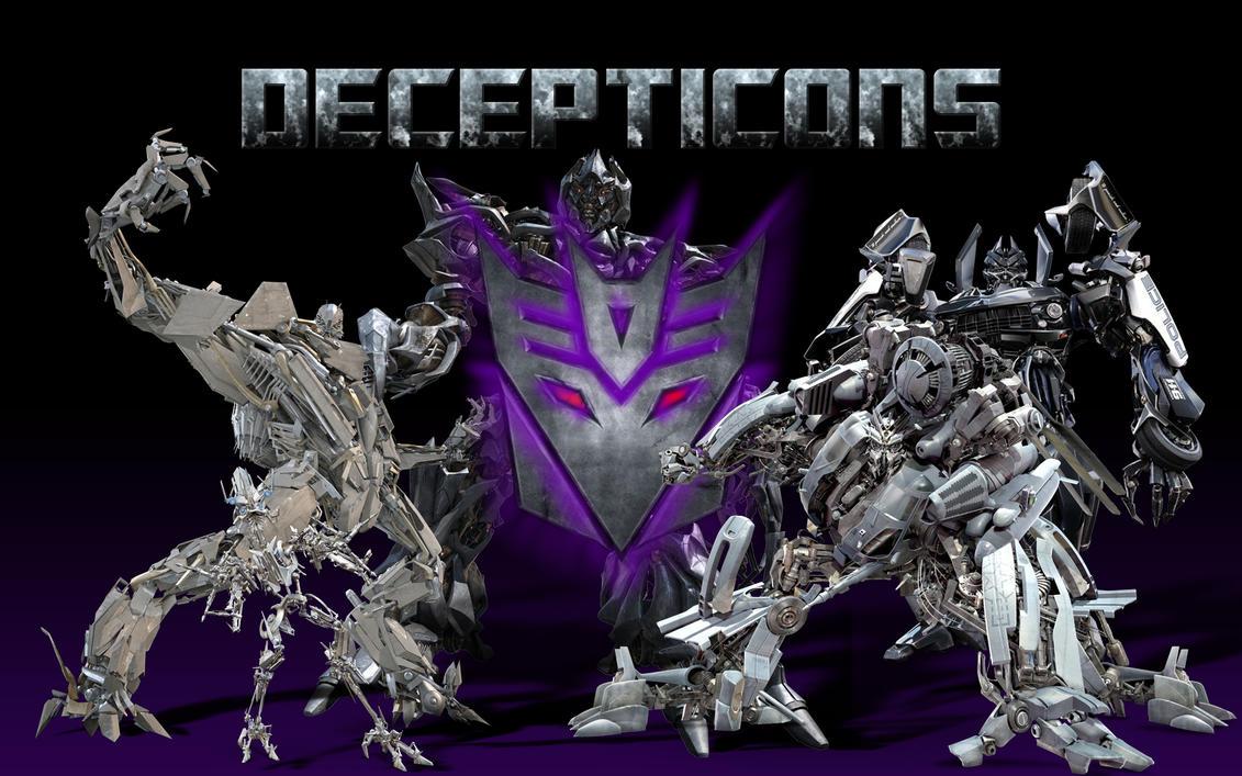 Decepticons by monkeybiziu
