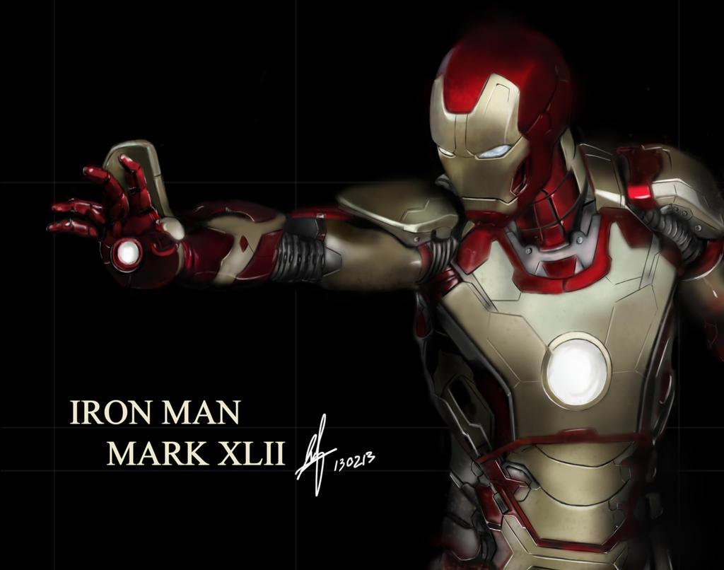 Iron Man Mark XLII by shinn89 on DeviantArt
