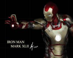 Iron Man Mark XLII by shinn89
