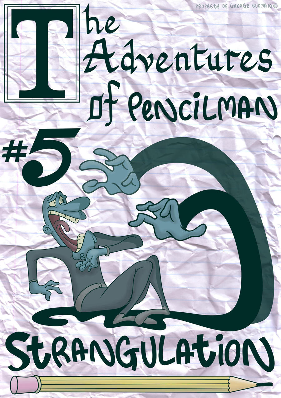 Pencilman #5 Cover by Cosmic-Onion-Ring