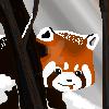 Snowy Red Panda by Rei-Kyou