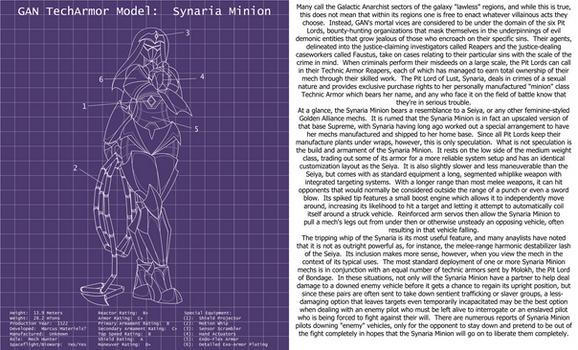 BioWarp Advent Calendar 16, Synaria Minion