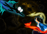 WIFL Mick vs Kokita by NandemoKandemoComics