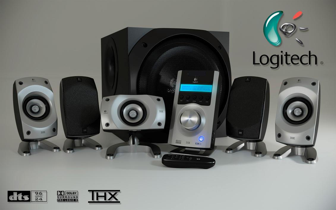 logitech z 5500 speaker system by artistic kage on deviantart rh deviantart com logitech soundman x1 logitech soundman s-20