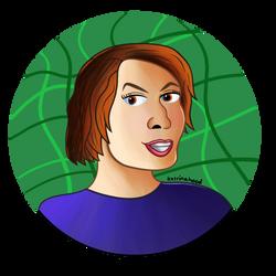 Katrina Trevelyan Character Icon by katrinahood