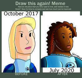 Draw This Again: Georgia L. Patterson