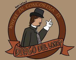 Where in Concordia is Diego del Lobo?