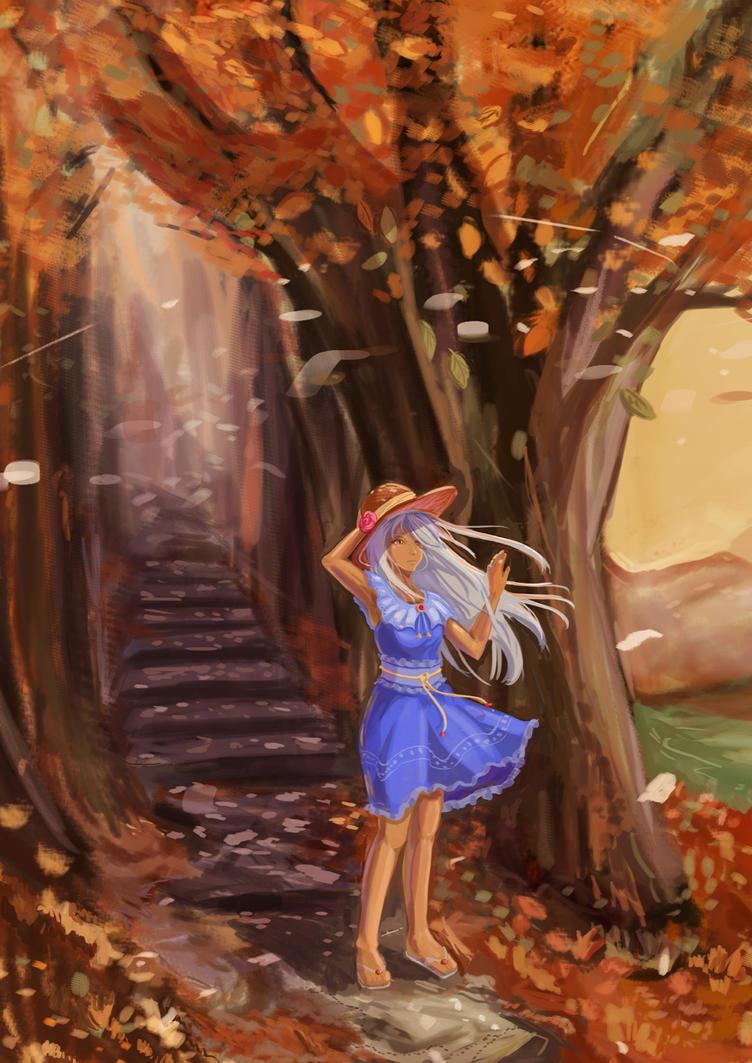 Autumn Breeze by animao89
