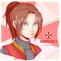 Claire Redfield by animao89