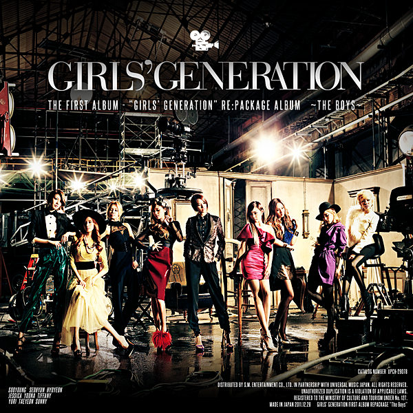 SNSD -  re:package The Boys Fanmade Album Cover by harubyday124