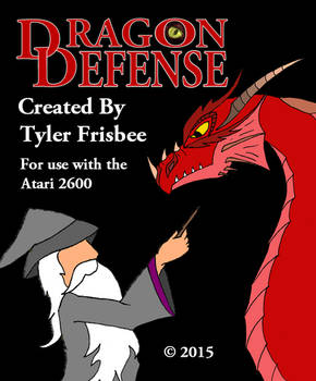 Dragon Defense for the Atari 2600