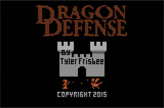 Dragon Defense Title Screen