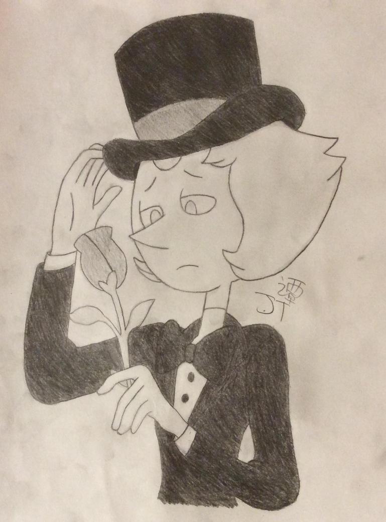 Pearl in a Tuxedo by PikachuJenn
