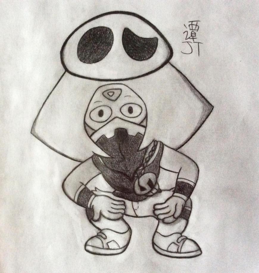 Peridot the Team Skull Grunt by PikachuJenn