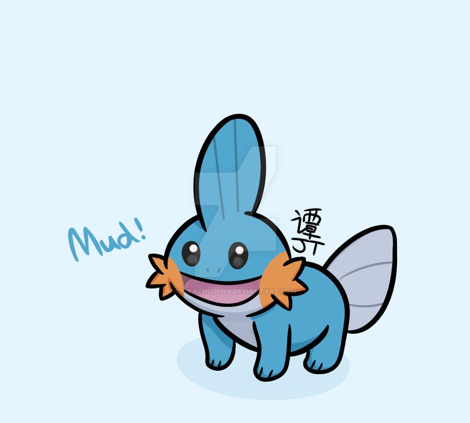 Mudkip! by PikachuJenn