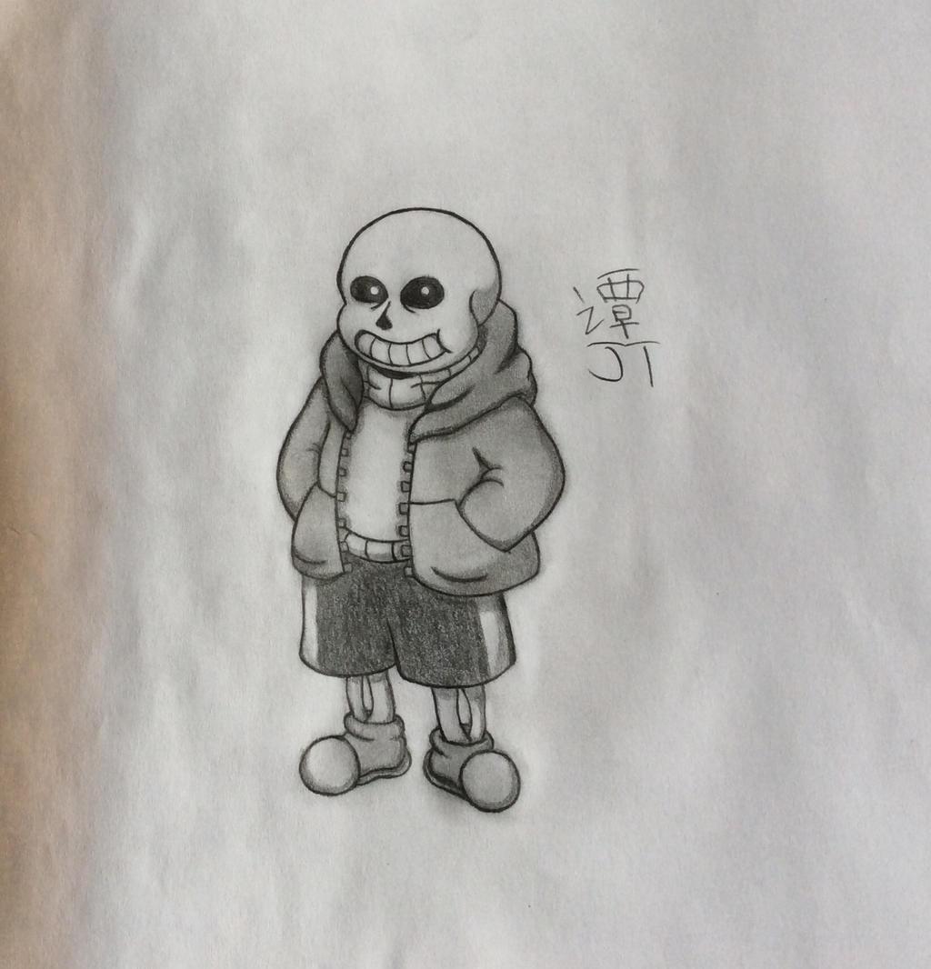 Sans by PikachuJenn