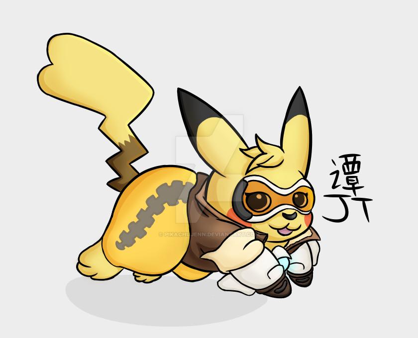 Pikachu Tracer (Digital) by PikachuJenn