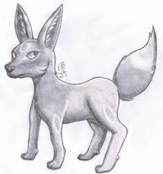 Umbreon Doodle
