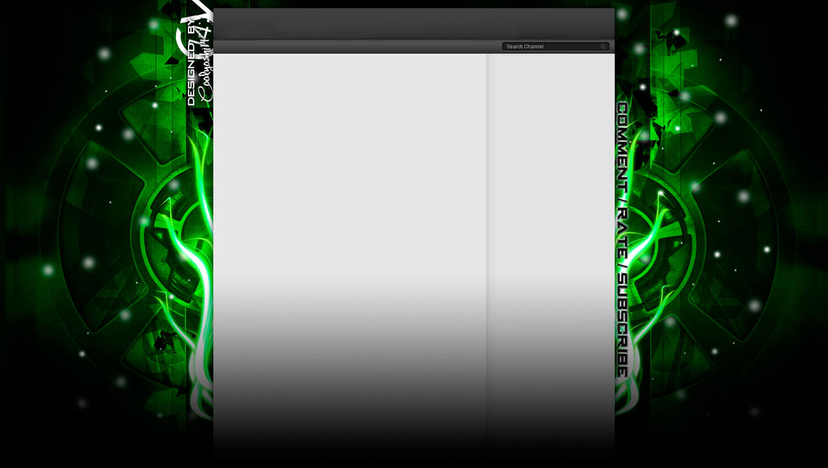 new youtube channel design background by coolyoshi12 on DeviantArt
