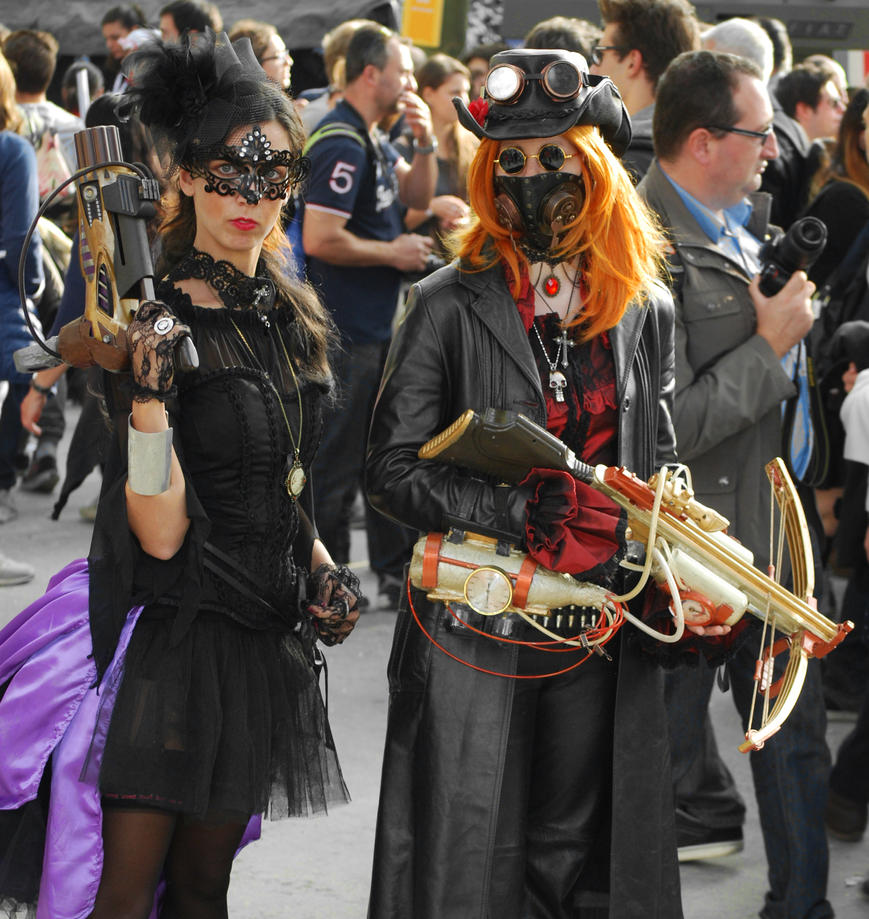 steamcouple Lucca CeG2014 by OcioProduction