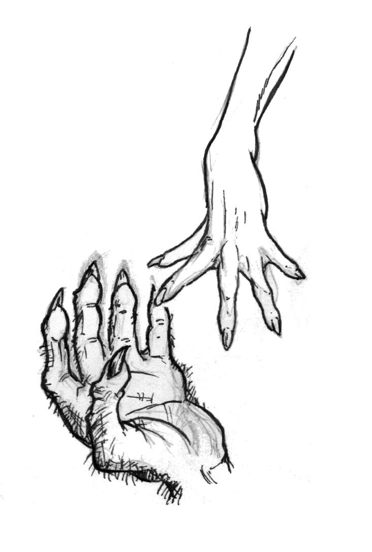 Hands' quick study - Beauty and the Beast by OcioProduction