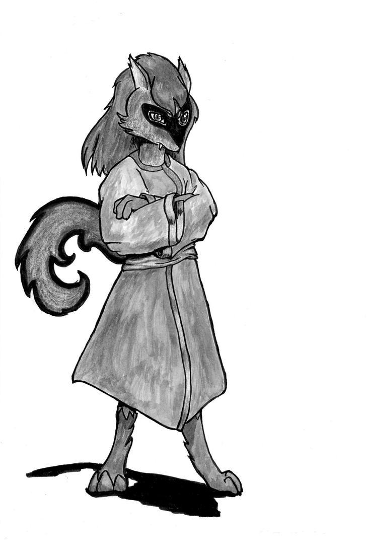 Sefu Saito Wolf Aura  male Riolu-Zorua  Commission by OcioProduction