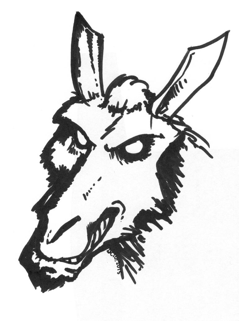Evillama by OcioProduction