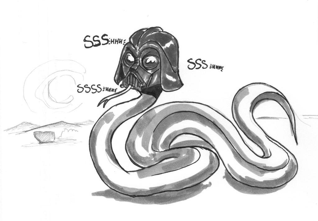 Daily sketch:  Anakonda by OcioProduction