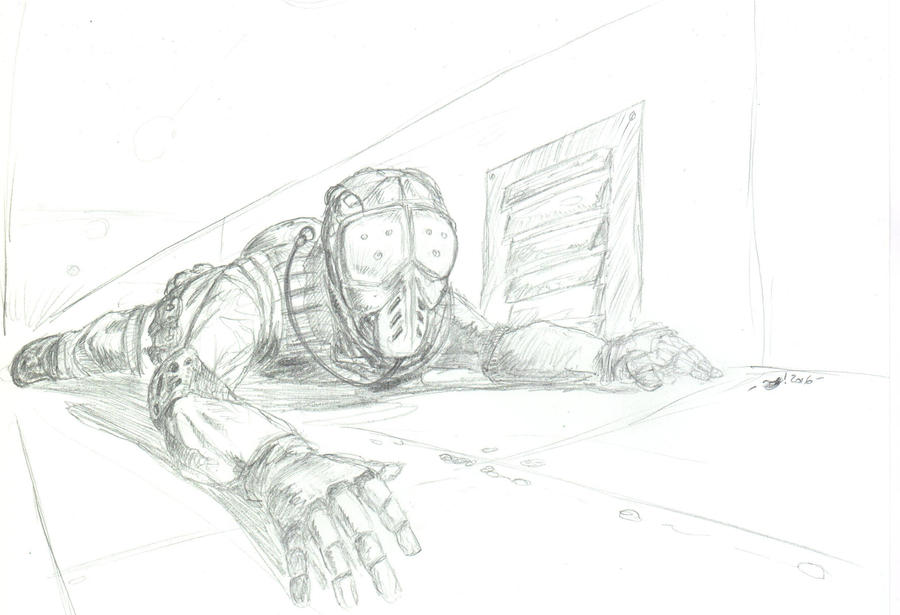 The Crawler- Pencils by OcioProduction