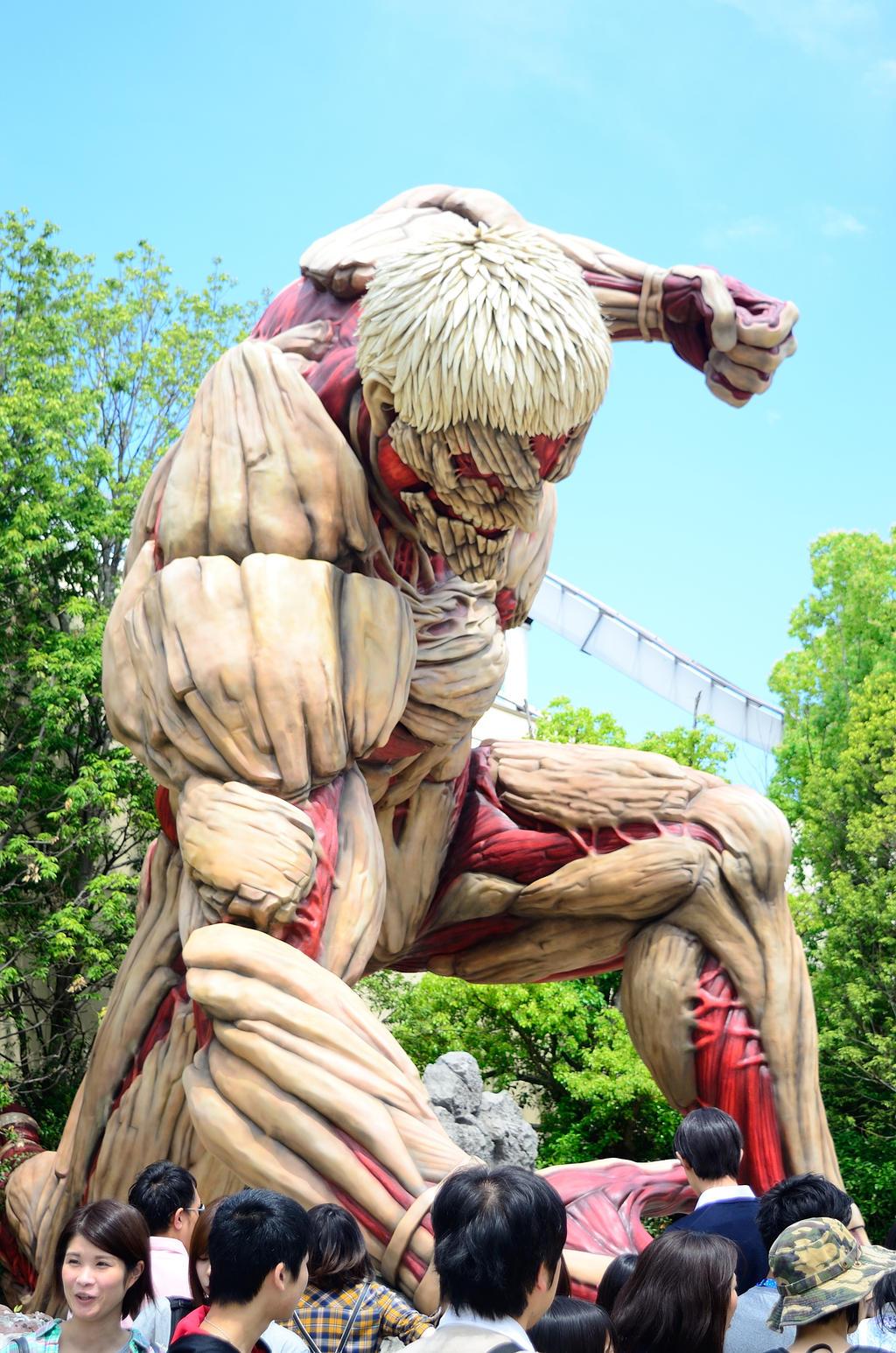 Titan wraith - Universal Studio Japan -Osaka by OcioProduction