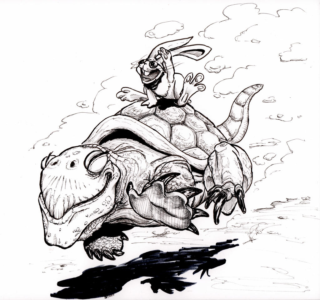 Hare and Turtle run by OcioProduction
