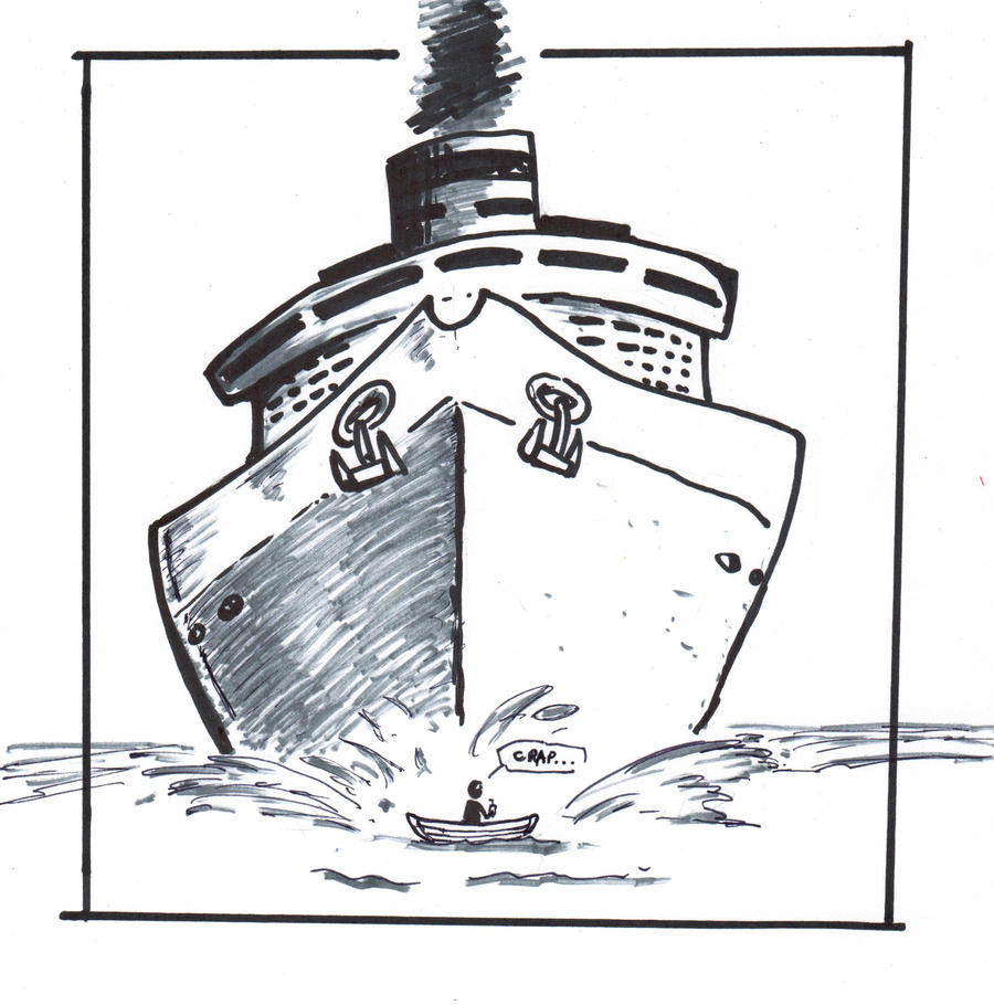 inktober 25- oh SHIP! by OcioProduction