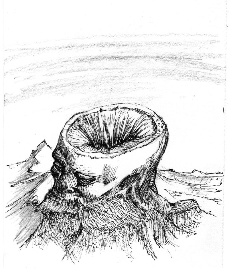 Inktober 28 -  Fallen titan by OcioProduction